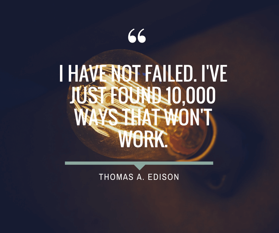 success of thomas edison Thomas edison quotes february 11, 1847 - october 18, 1931 thomas edison was born in milan, ohio, usa while he had many accomplishments in his lifetime, he is most remembered for his invention of the lightbulb.