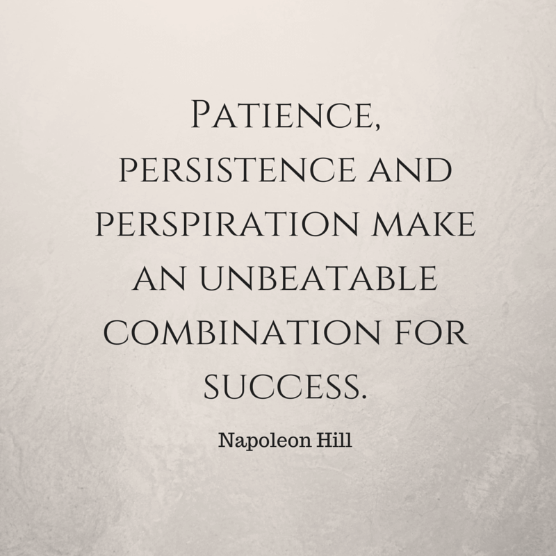 Patience: a necessary attitude for successful entrepreneur