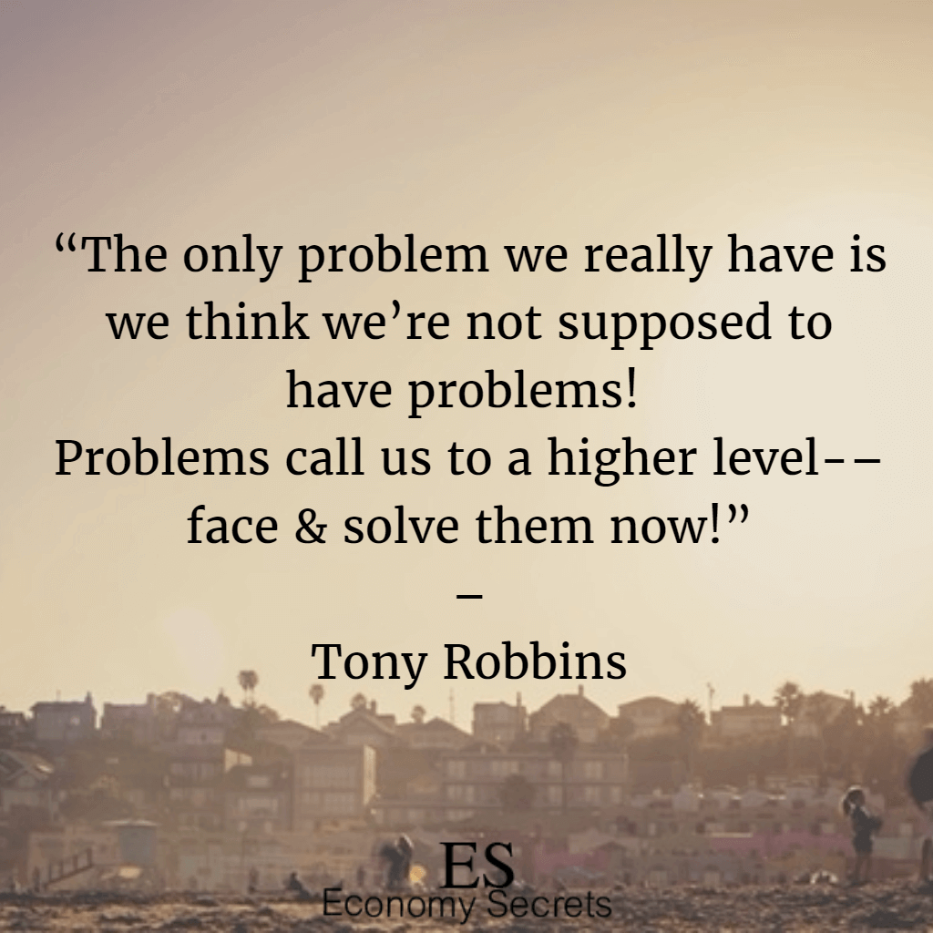 Problem Quotes 35 Tony Robbins Quotes That Will Help You Succeed In Your Life
